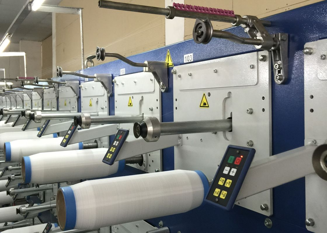 Sewing Thread Embroidery Thread Winding Machine , Automatic Thread Winder